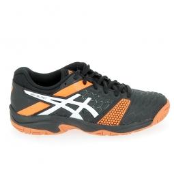 Chaussure de tennis asics blast 7 jr noir orange 38