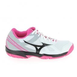 Chaussure multi sports mizuno cyclone speed jr blanc rose 34