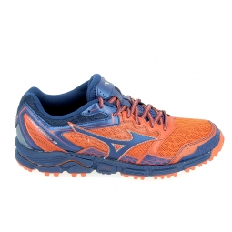 Chaussure de runningrando trail mizuno wave daichi 3 rouge