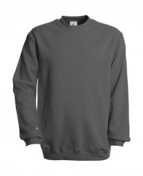 Betc sweat shirt homme wu600 gris acier m