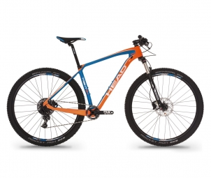 Vtt semi rigide head bike trenton i 29 sram nx 11v orange m 170 180 cm