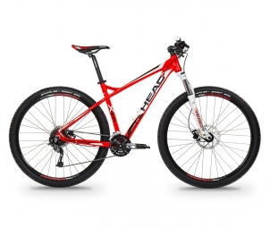 Vtt semi rigide head bike x rubi i 27 5 shimano altus 3x9v rouge xl 185 200 cm