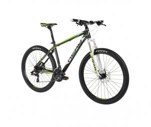 Vtt semi rigide head bike troy ii 27 5 shimano altus 3x8v jaune s 155 170 cm