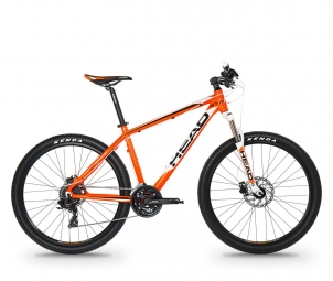 Vtt semi rigide head bike troy ii 27 5 shimano altus 3x8v orange s 155 170 cm