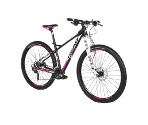 Vtt semi rigide femme head bike x rubi lady 27 5 shimano deore 3x10v rose s 153 165