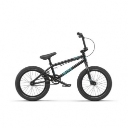 Bmx freestyle radio bike dice 16 matt black 2019