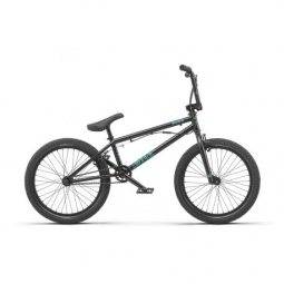 Bmx freestyle radio bike dice fs 20 matt black 2019