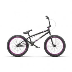 Bmx freestyle radio bike saiko 19 25 matt black 2019
