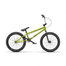 Bmx freestyle radio bike saiko 19 25 matt metallic lime 2019