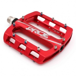 Paire de pédales plates Pride Racing Newton Elite Red