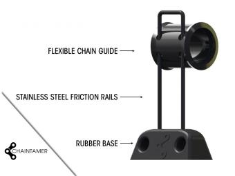 HxR Guide Haut by Chaintamer 90mm noir