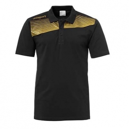 Polo Uhlsport Liga 2.0-noir/or-XXXL