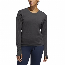 Sweatshirt femme adidas Supernova Run Cru