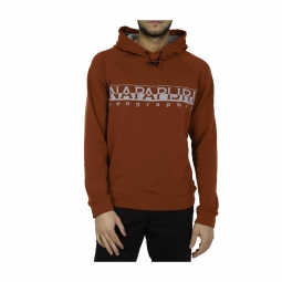 Sweat a capuche napapijri tanaina 1 orange red xl