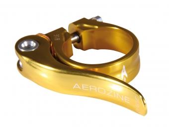 Serrage de selle Aerozine rapide Gold 31.8