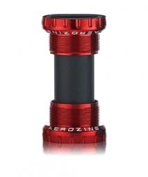 Boitier de pedalier aerozine bsa 73 68mm red