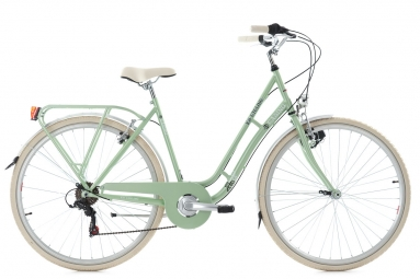Vélo de ville dame 28'' Casino 6 vitesses vert TC 51 cm KS Cycling