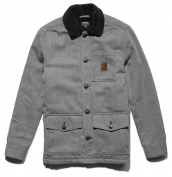 Etnies sherp dog jacket black s