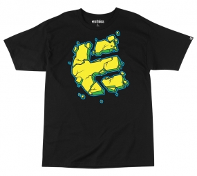 ETNIES NICE SHOT S/S TEE YOUTH BLACK