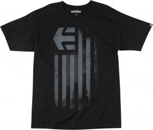 ETNIES NUEVO S/S TEE-YTH BLACK