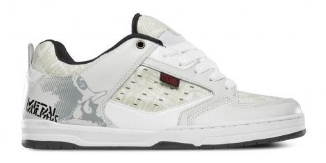 Etnies metal mulisha cartel white black red 42
