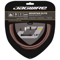 Jagwire kit cable de derailleur vtt elite sealed
