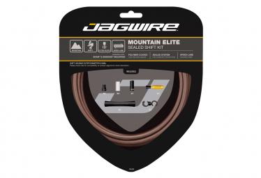 JAGWIRE Kit câble de dérailleur VTT Elite Sealed
