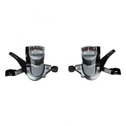 Shimano manettes vitesses 3x9 vitesses sl m4000 alivio avec cables