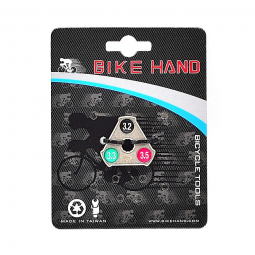 Clé à rayons marquage couleurs pour roue de vélo .