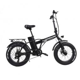Vélo électrique Velobecane Snow noir