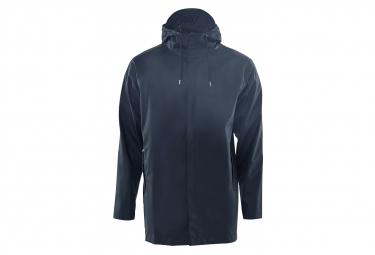 Rains Short Coat Blue