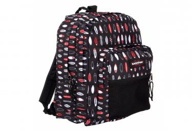 Eastpak Pinnacle Backpack Surfboards Black Red