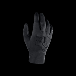 Gants de vtt fox attack water glove black