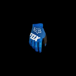 Gants de vtt fox dirtpaw race glove blue