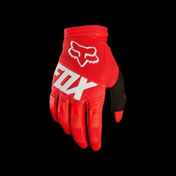 Gants de vtt fox dirtpaw race glove red