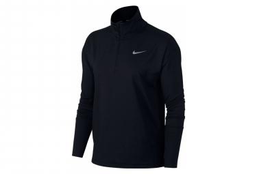 Pull 1/4 zip Nike Element Noir Femme