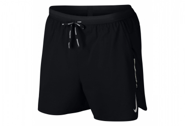 Short 2-en-1 Nike Dri-Fit Flex Stride 13cm Noir Homme