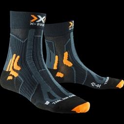 Chaussettes x socks trail run energy noir 39 41