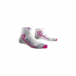 Chaussettes x socks run speed two white rose 39 40