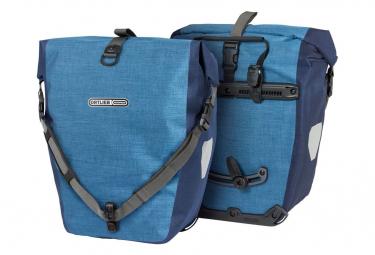 Ortlieb Back-Roller Plus Quick-Lock2.1 Par de bolsas para bicicleta 40 L Denim Steel Blue
