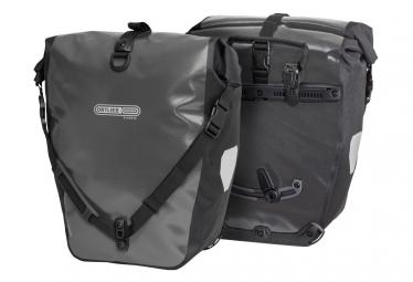 Ortlieb Back-Roller Classic Quick-Lock2.1 Pair of Bike Bag 40 L Asphalt Grey Black