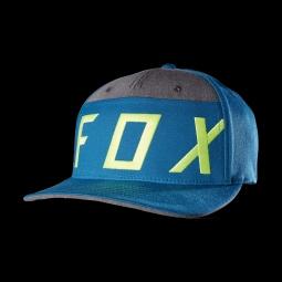 Casquette fox moth splice flexfit maui blue