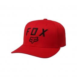 Casquette fox legacy moth 110 snapback dark red