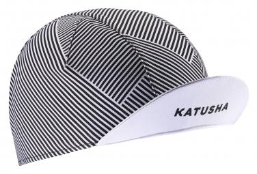 Casquette Katusha Race 90 Degrees Blanc Noir