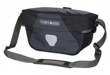 Ortlieb Ultimate Six Plus 5 L Handlebar Bag Granite Black