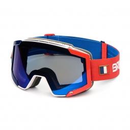 Masque De Ski Briko Lava 7.6 France Blue White Red