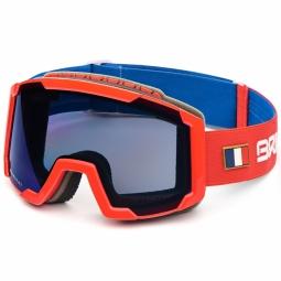 Masque De Ski Briko Lava France Blue Red
