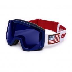 Masque De Ski Briko Lava Ussa Red Blue White