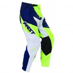 Pantalon vtt moto first racing data 2017 vert fluo