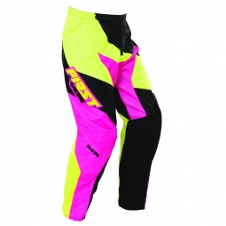 Pantalon vtt moto first racing data 2017 rose fluo